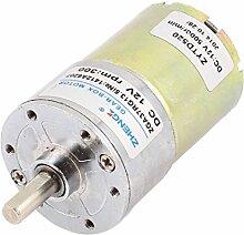 Aexit DC 12V Baumarkt 300 RPM 6mm Schaft Hoch