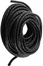 Aexit Polyethylen Schwarz Baumarkt Spiralschlauch