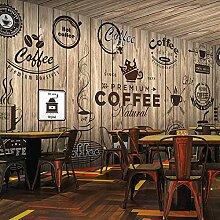 Afashiony Fototapete 3D Continental Retro Holz