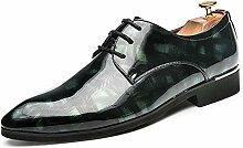AFCITY Elegante Formelle Schuhe Oxford Retro