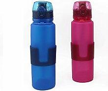 AFCITY Faltbare Wasserflasche Portable Food Grade