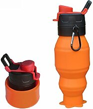 AFCITY Faltbare Wasserflasche Radfahren