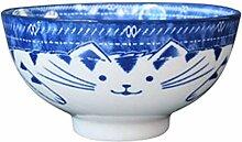 AFDK Japanischen Stil Unterglasur Keramik Reis