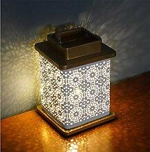 AFORTLO Batteriebetriebene Laterne, Tischlampe,