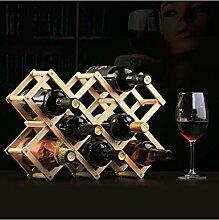 Afranyu Afanyu Wooden Color Cabinet Weinregal |