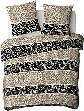 Afrika–Bettwäsche Bettbezug Polycotton 220x 240cm, 240x 260cm 50% Baumwolle, 50% Polyester Waschen separatem 40° und Bügeln möglich. Dekoration, 220 x 240 cm