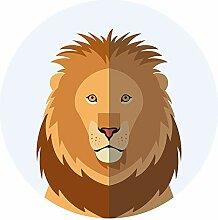 Afrika Wandtattoo Löwe Tierbild Wandsticker Tiere
