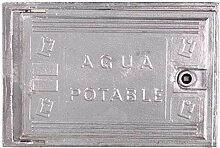 AFT Tür, Wasserzähler, Aluminium 220 x 350 mm