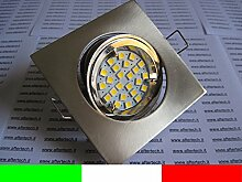 aftertech® LED Einbaustrahler quadratisch 120°