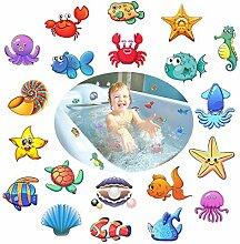 Afufu Anti Rutsch Sticker für Badewannen, 20
