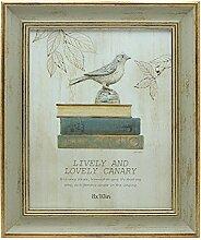Afuly 20x25 antike Fotorahmen in Gold und Vintage