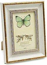 Afuly Antike Weiße Bilderrahmen 10x15 Vintage