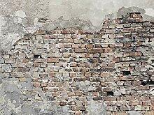 AG Design Alte Vintage Mauer, Vlies Fototapete