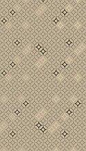 AG Design Braun-Gold-Ornament, Gardinen für
