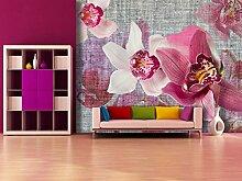 AG Design Fototapete FTNxxl1148, Orchideen