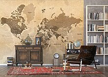 AG Design - Fototapete - Karte - Wand Dekoration -