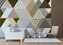 AG Design - Fototapete - Triangles - Wand