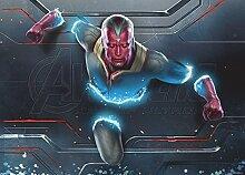 AG Design FTDM 0734  Avengers Marvel, Papier Fototapete Kinderzimmer- 160x115 cm - 1 Teil, Papier, multicolor, 0,1 x 160 x 115 cm