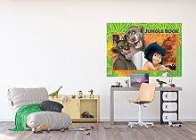 AG Design FTDM 0736 Jungle Book Disney Papier