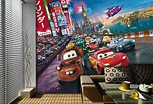 AG Design FTDXXL 2216  Cars Disney, Papier
