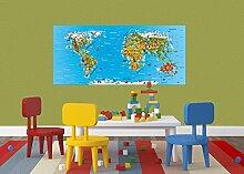 AG Design FTG 0931  Weltkarte für Kinder, Papier