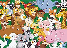 AG Design FTM 0863  Tiere Papier Fototapete,