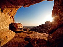 AG Design FTS 0483 Sonnenuntergang in Canyon,