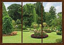 AG Design FTS 1314  Garten Fenster, Papier