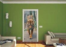 AG Design FTV 0001 Tiger, Papier Fototapete -
