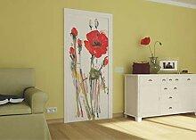AG Design FTV 0030  Mohn, Papier Fototapete -