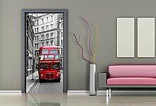 AG Design FTV 1512  London Bus, Papier Fototapete