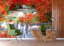 AG Design FTXXL 1477 Wasserfall Papier Fototapete,