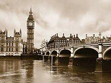 AG Design London, Vlies Fototapete 4 Teile,
