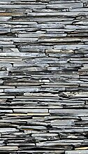 AG Design Steinmauer, Gardinen für Wohnzimmer,