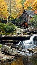 AG Design Vintage Wassermühle, Gardinen für