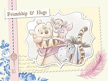 AG Design Winnie The Pooh Vintage, Disney, Vlies