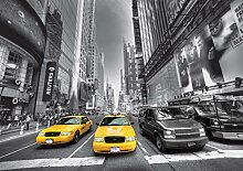 AG Design Yellow Cab New York Taxi, Vlies