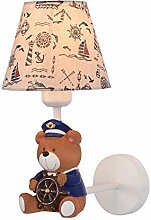 AGECC Kinderzimmer Wand Lampe Cartoon Junge