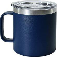 AGH 400 ml Kaffeebecher mit Henkel, Isolierter