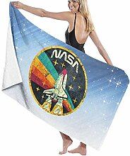 AGHRFH Badetuch - USA Weltraumorganisation Vintage