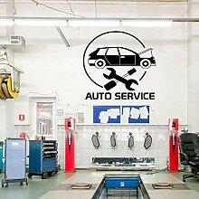 AGiuoo Auto Service Fenster Aufkleber, Reifen,