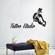 AGjDF Tattoo Studio Logo Wandkunst Aufkleber