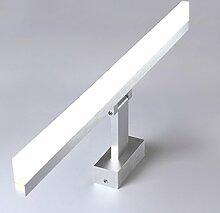 Aglia UK ED Spiegel Vorderlicht Bad Spiegel Schrank Make - Up Kommode Toilettenlampe ( Farbe : Weißes Licht-50cm-8w )