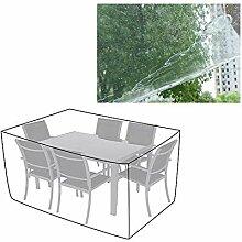 AGLZWY Gartenmöbel Abdeckungen Transparent Plane