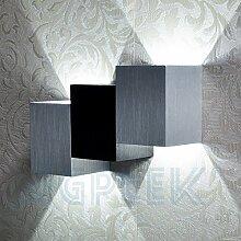 AGPTEK® 6W Moderne Wandlampe, Innen Oben Unten