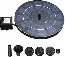 AGQG Solar Wasserpumpe Power Panel Kit Lotusblatt