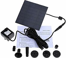 AGQG Solar Wasserpumpe Power Panel Kit