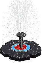 AGQG Solarbrunnen Wasserpumpe 7V Energiesparende
