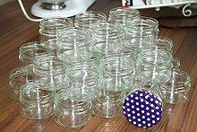 AGROHIT Marmeladenglas 40 Stück Einmachgläser