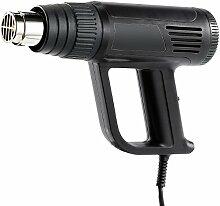 AGT Grillanzünder: Heißluftpistole mit 3 Gebläsestufen, 2000 Watt (Elektro Grillanzünder)